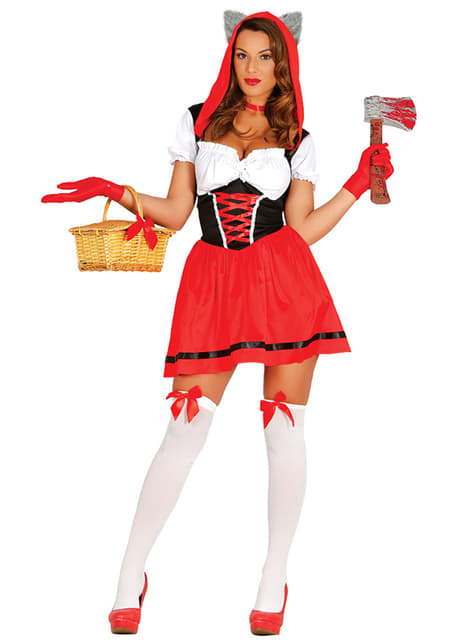 Woman's Sexy Little Red Riding Hood Costume