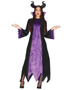 Disfraz de hada malvada cuento para mujer