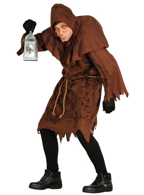 Man's Filthy Hunchback Costume
