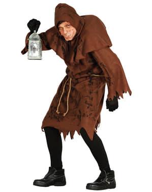 Costum de cocoșat murdar pentru bărbat