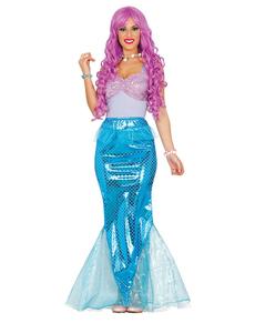 Disfraz de sirenita de los mares para mujer