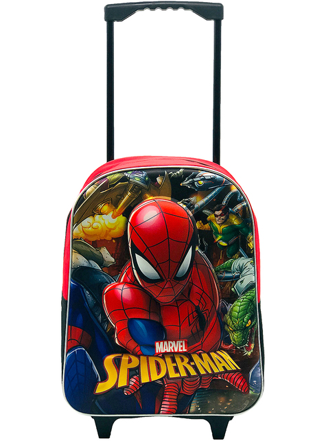 Mochila con ruedas 3D Spiderman