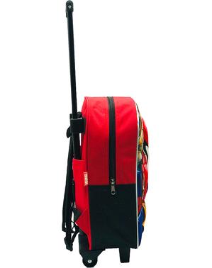 3D Pókember gurulós hátizsák