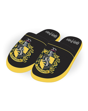 Hufflepuff Slippers for Adults - Harry Potter