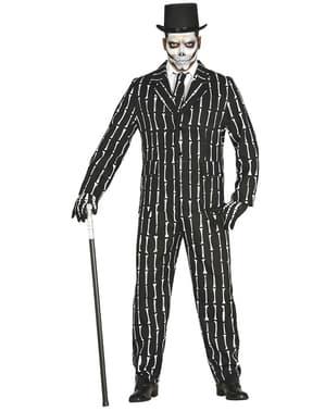 חליפת גברים עצמות שלד