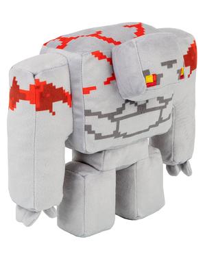 Minecraft Golem Redstone Plush Toy (Dungeons Adventure) 20cm