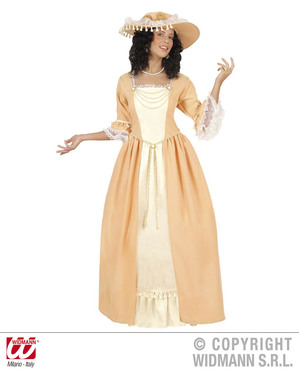 Disfraz de aristócrata sureña para mujer