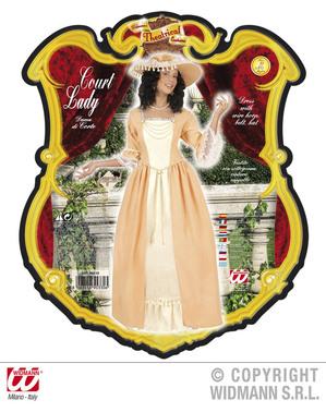 Costum de aristocrat sudic pentru femei