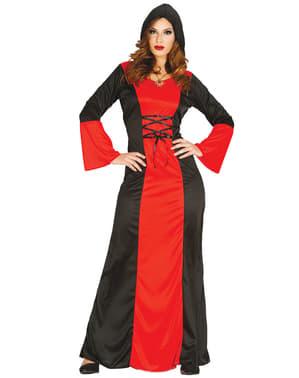 Graf Halloween Halskrause SATIN weiß Renaissance Barock /& Rokoko