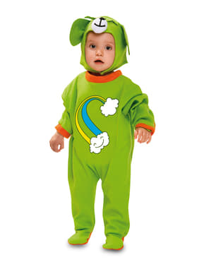 Kostium tęczowy misiaczek dla niemowląt