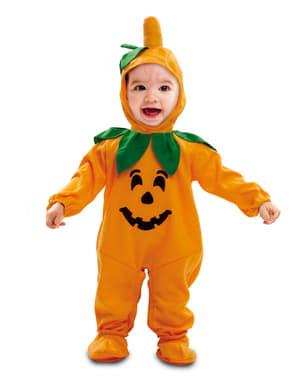 Сладък бебешки костюм на тиква