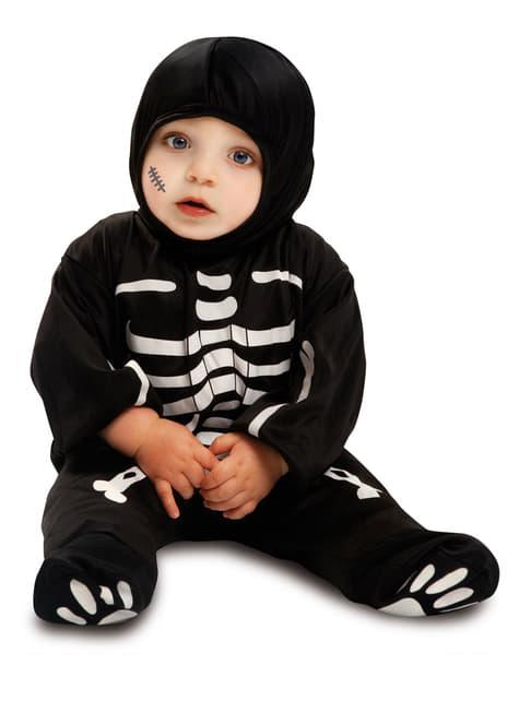 Niedliches Skelett Kostüm für Babys