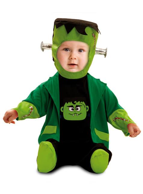 Disfraz de Frankenstein siniestro para bebé