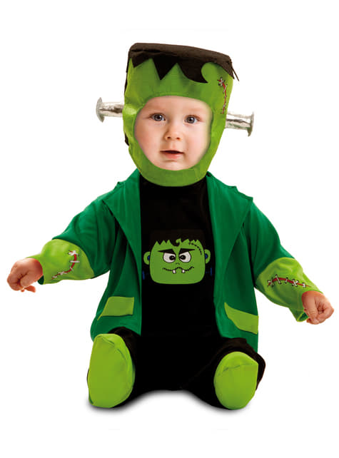 Kostium złowieszczy Frankenstein dla niemowląt