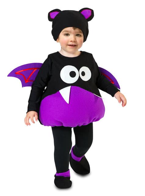 Fato de morcego divertido infantil