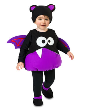 Sjovt flagermus kostume til børn