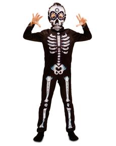 Costume da scheletro giorno dei morti per ... class