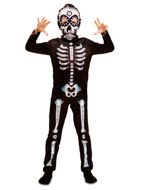 Kids's Day of the Dead Skeleton Costume