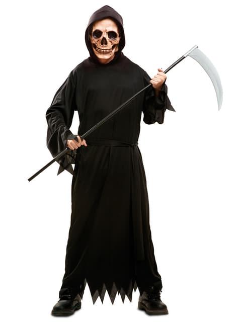 Disfraz de muerte fantasmagórica para niño