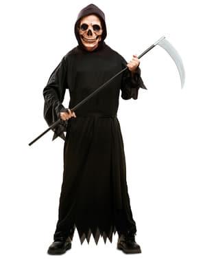 Drengurinn er Dark Death Costume