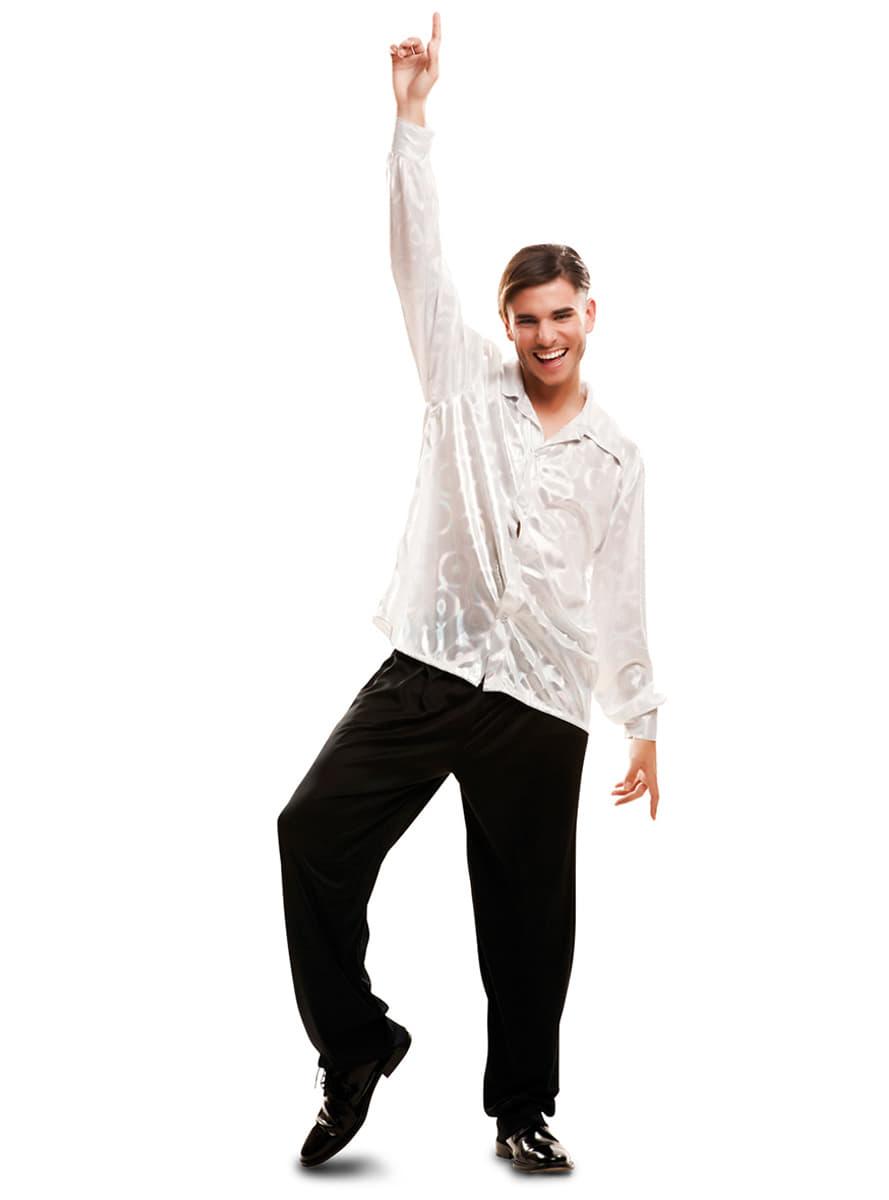 chemise disco homme pour d guisement funidelia. Black Bedroom Furniture Sets. Home Design Ideas