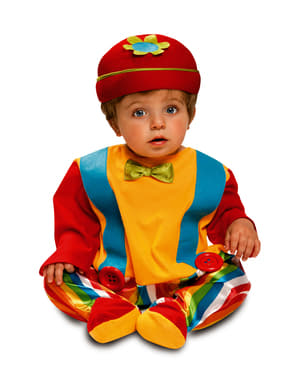 Costume da pagliaccio divertente per neonato