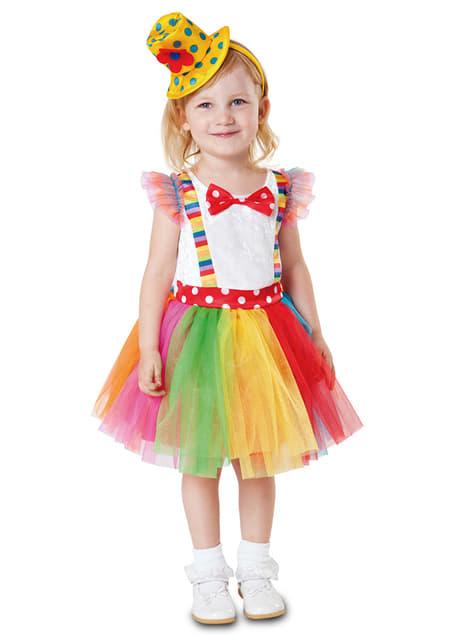 Little Clown Tutu Costume for girl