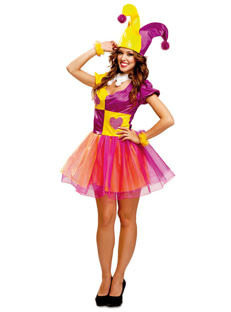 Womens Jester Costume