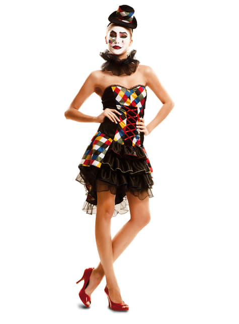 Woman's Sexy Little Clown Costume