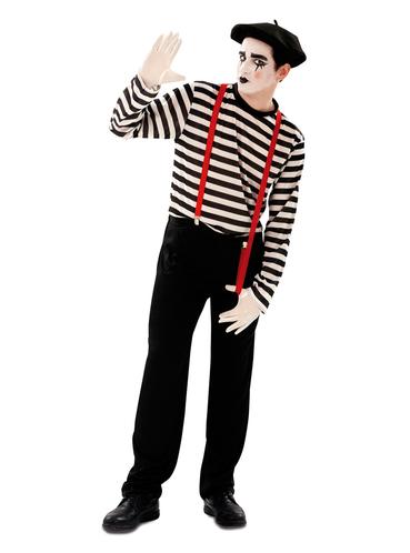 men 39 s classic mime costume. Black Bedroom Furniture Sets. Home Design Ideas