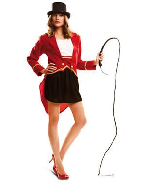 Circuspresentator kostuum voor vrouw
