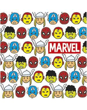 20 Avengers -Hahmolautasliinaa (33x33cm) - Avengers Pop Sarjakuva
