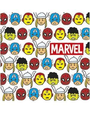 20 Мстители символы Салфетки (33x33cm) - Мстители мультфильмы