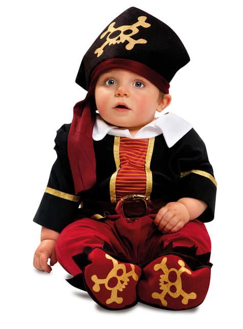 Disfraz de pirata corsario para bebé