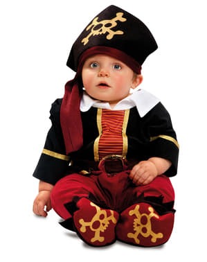 Baby's Corsair Pirate Costume