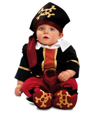 Costume pirata per neonato deluxe