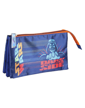 Star Wars Pencil Case with 3 Compartments