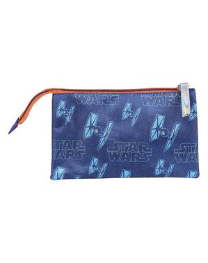 Star Wars Pennal med 3 lommer