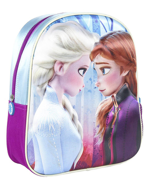 Elsa Frozen flitre 3D Trolley Backpack