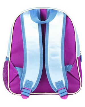 אלזה הקפוא נצנצי 3D עגלת Backpack