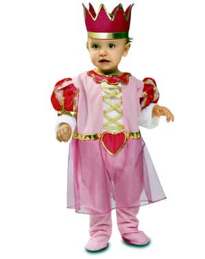 Strój różowa księżniczka dla niemowląt