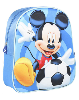 Niebieski plecak 3D Myszka Miki dla dzieci - Disney