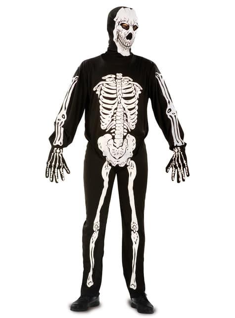 Déguisement squelette monstre homme