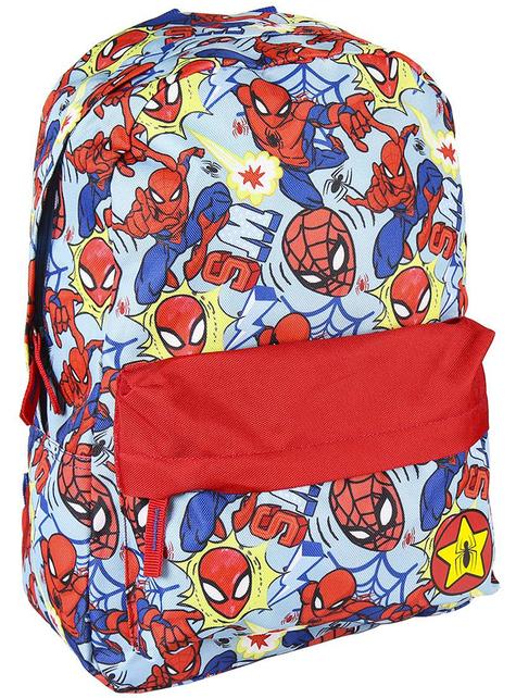 Mochila infantil Spiderman estampada