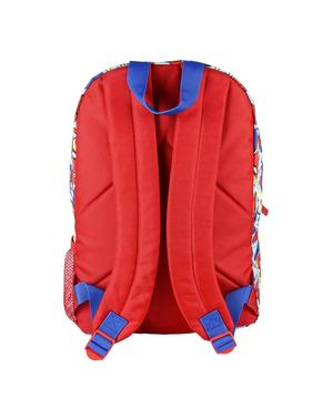 Mochila infantil Spiderman estampada