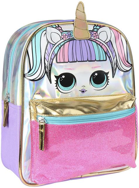 Mochila infantil LOL Surprise con unicornio