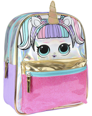 Mochila infantil LOL Surprise con unicornio