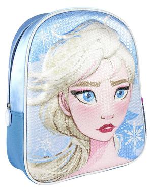 Mochila infantil Elsa Frozen 2 com lantejoulas - Disney