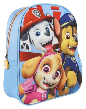 Blå Tasspatrullen 3D ryggsäck för barn