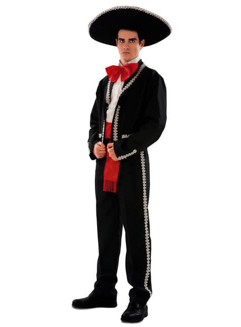 Fato de mexicano elegante para homem
